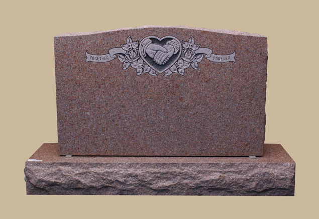 0270H Upright Grave Marker