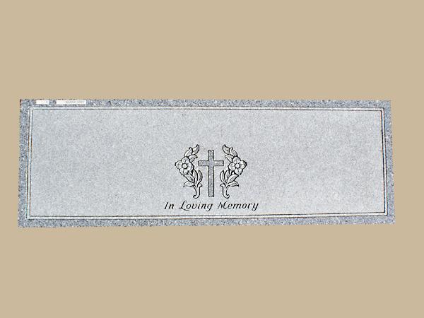0004D Religious Flat Marker