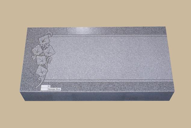 0273H Flat Marker for Gravesite