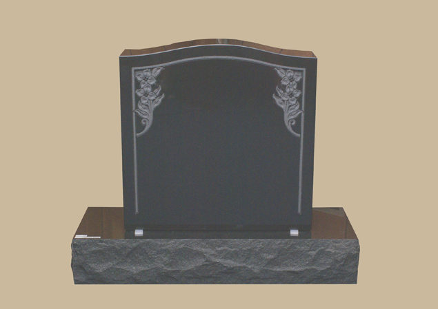 0276H Upright Grave Marker