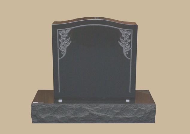 0276H Upright Grave Marker