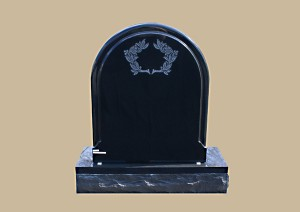 0014D Upright Grave Marker