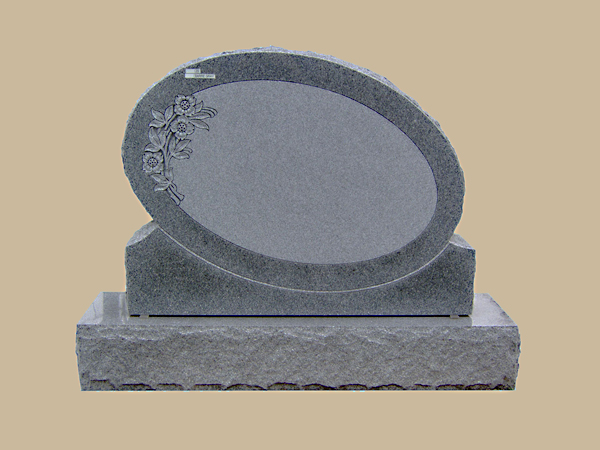 0029D upright grave marker