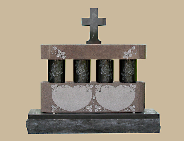 0034D Religious Cremation Memorial