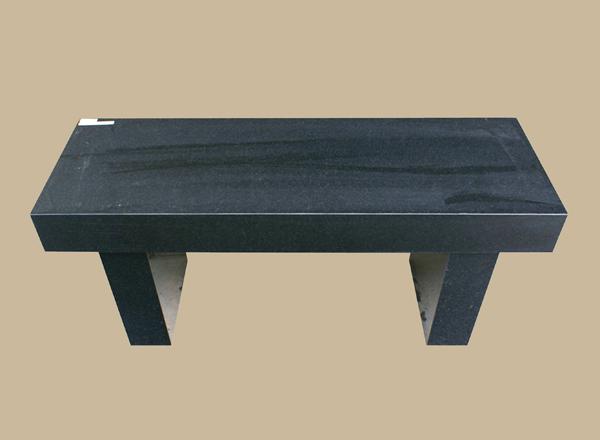 0041D granite memorial bench