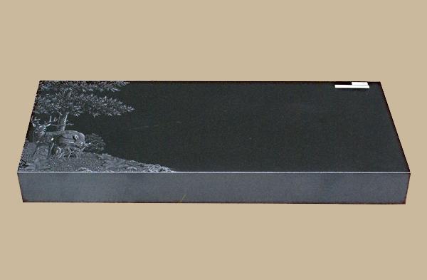 0045D Flat Marker for Gravesite