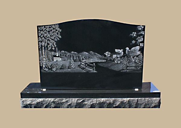 0084R Custom Design Gravestone