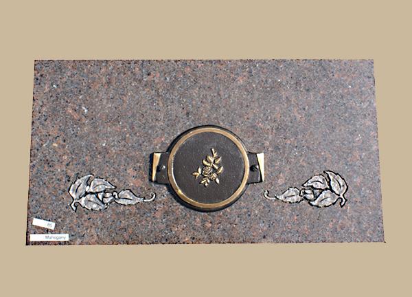 0085D gravesite cremation marker
