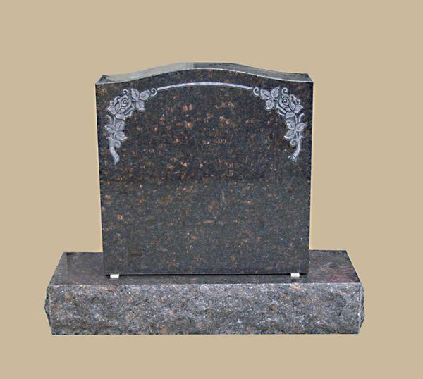 0096D Upright Grave Stone