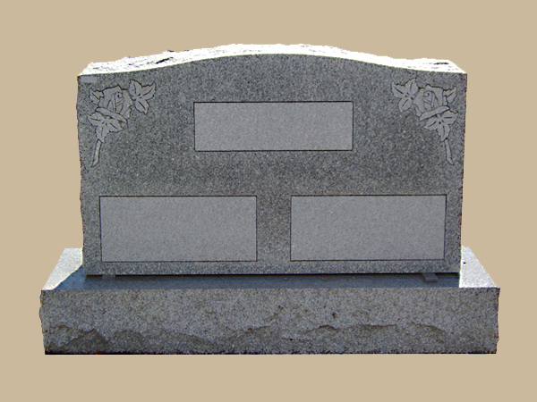 0100D upright grave marker