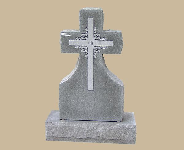 0102D Religious Cemetery Gravestone