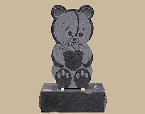 0108D children's upright grave marker