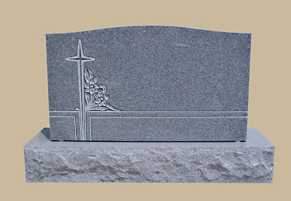 0145D Religious Granite Grave Stone