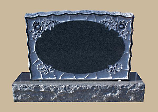 0151D Cemetery Gravestone