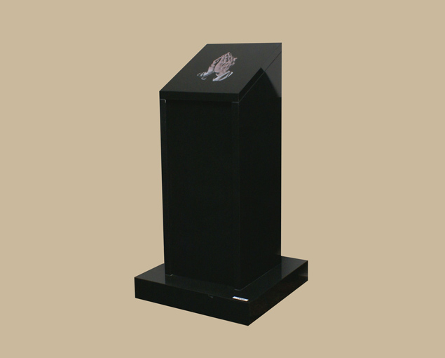 0154R Religious Cremation Marker