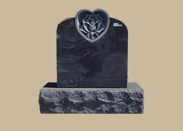 0017D Upright Grave Marker