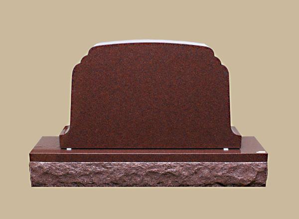 0185R Cemetery Gravestone