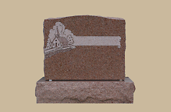 0189D Religious Grave Marker