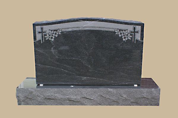 0191D religious grave marker