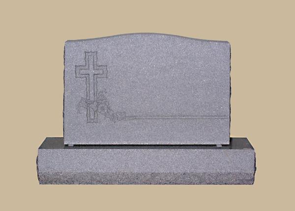 0194R Religious Grave Marker