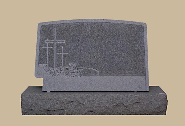 0195R Religious grave marker