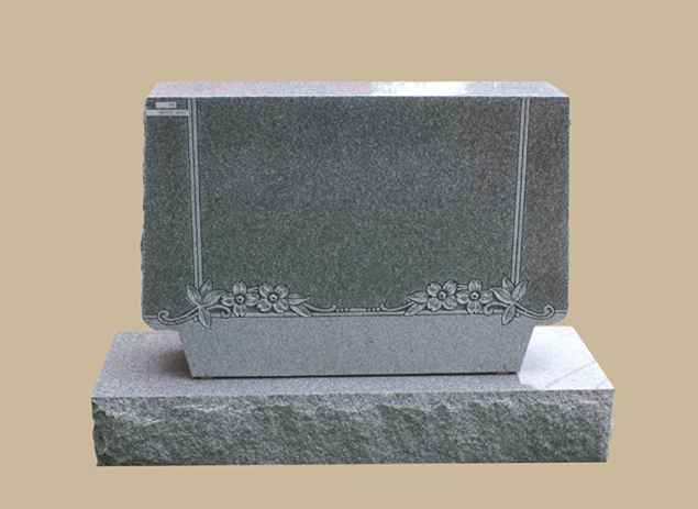 0205C Upright Grave Marker