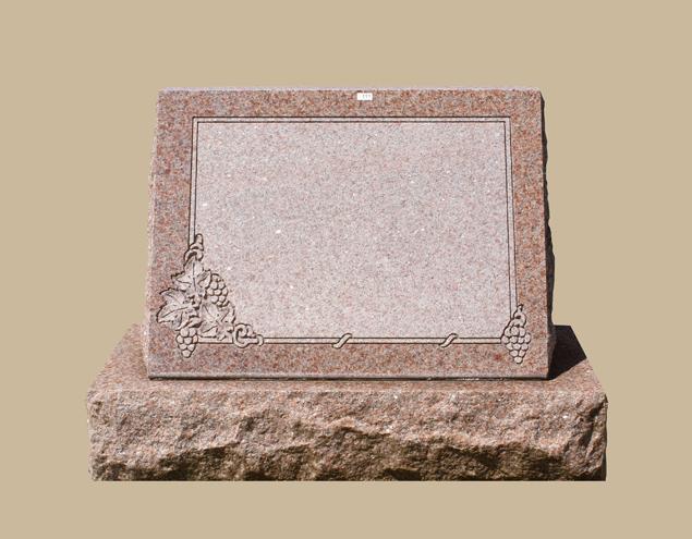 0211C Slanted Grave Marker