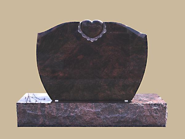 0212D upright grave marker