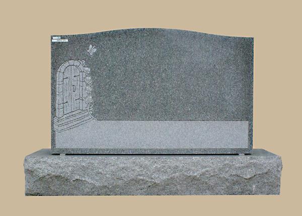 0213D Religious Cemetery Gravestone