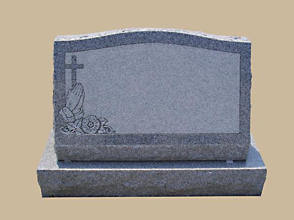 0216D Religious Granite Marker