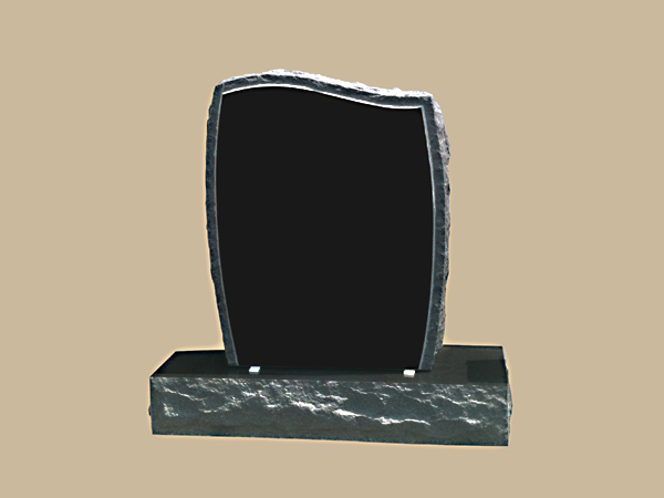 0222D upright grave marker
