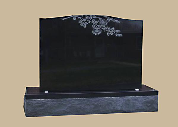 0224D Upright Grave Marker