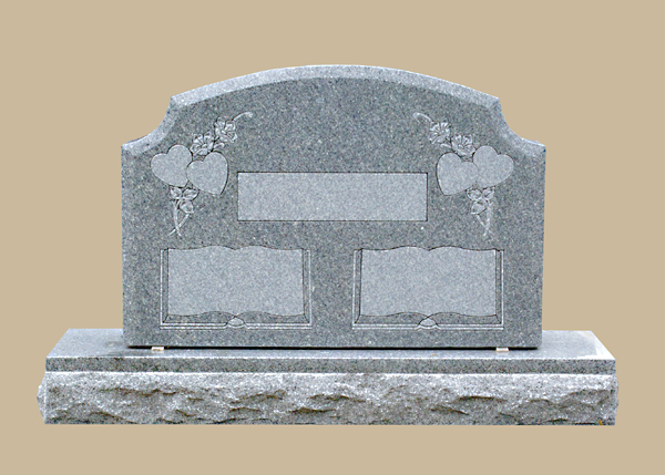 0227D Upright Grave Marker