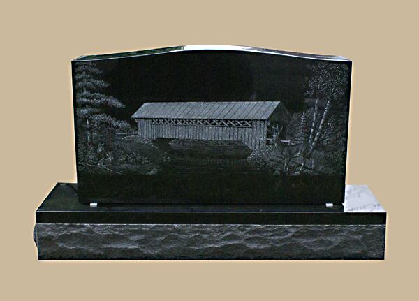 0235D custom grave marker