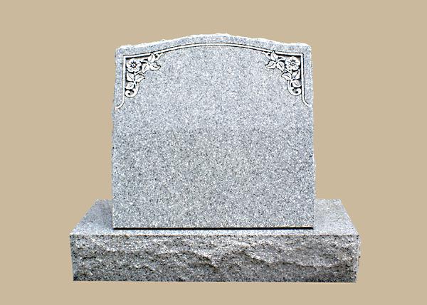 0238D Slanted Grave Marker