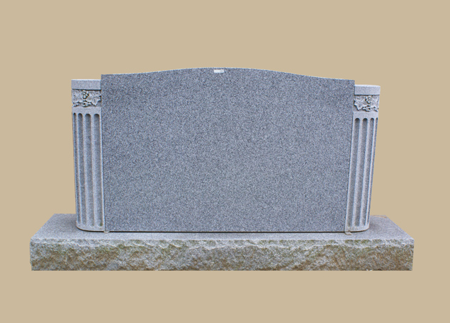 0241C upright grave marker