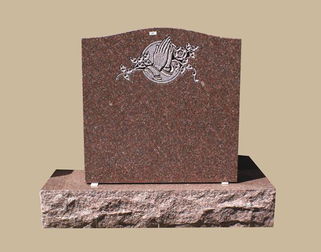 0248C Religious Grave Marker