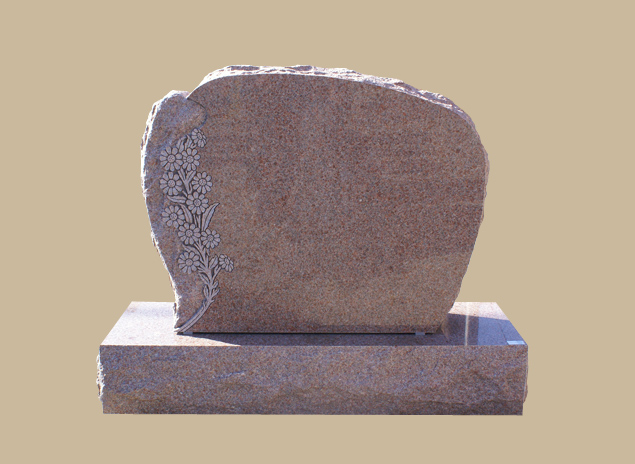 0251D Upright Grave Marker