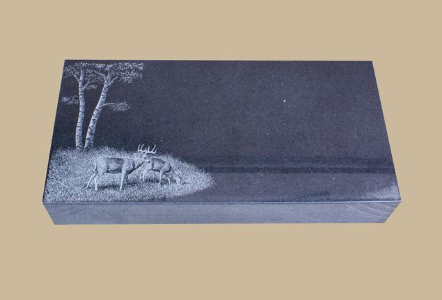 0252C Flat Marker for Gravesite