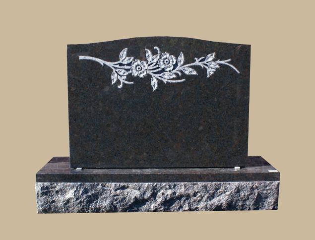 0252D Cemetery Gravestone