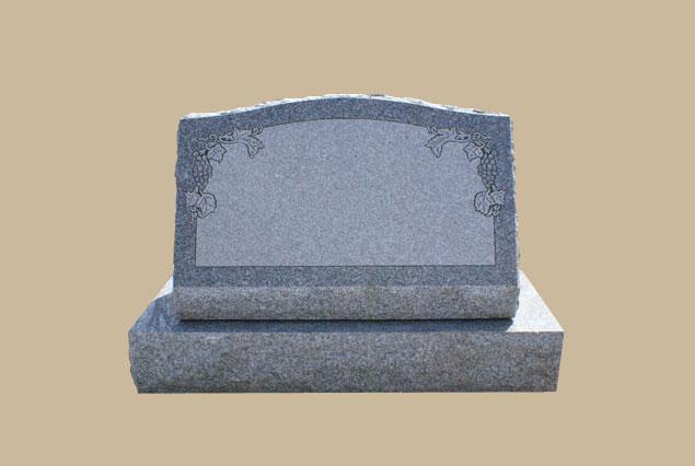 0270D Slanted Grave Marker