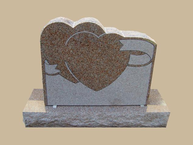 0271C Granite Grave Marker