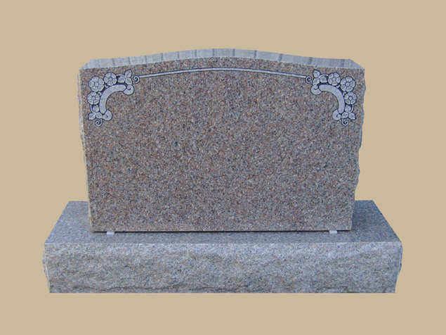 0272C upright grave marker