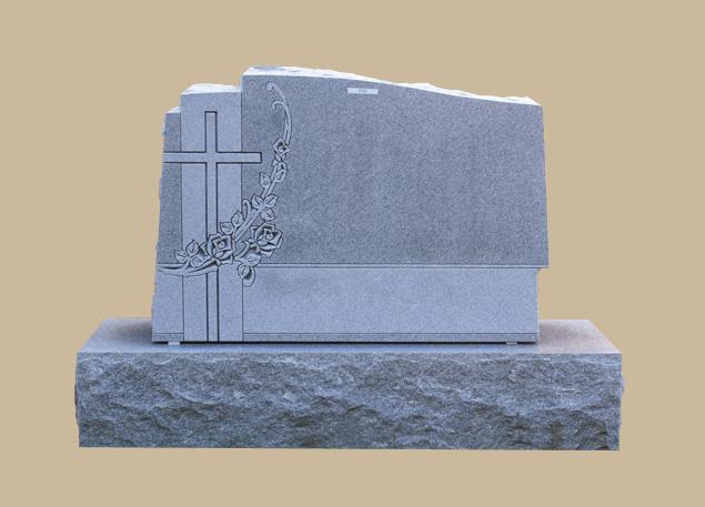 0275C Granite Cemetery Grave Stone