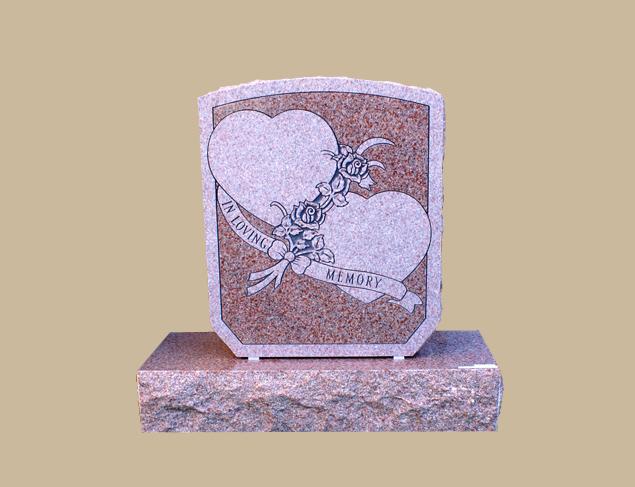 0276C Religious Grave Stone