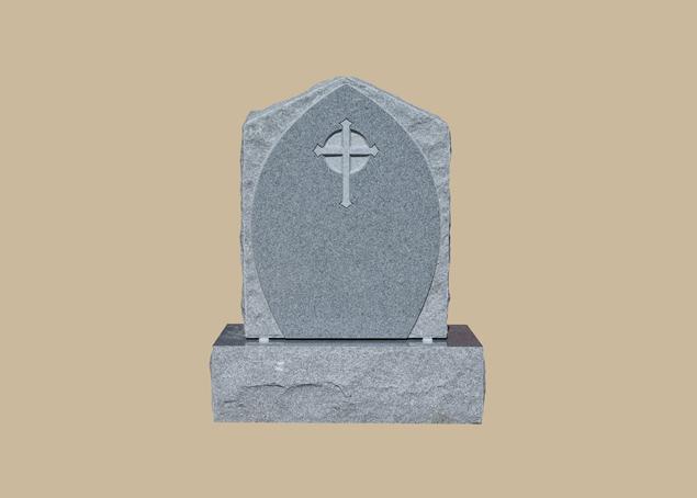 0277C Religious Grave Stone