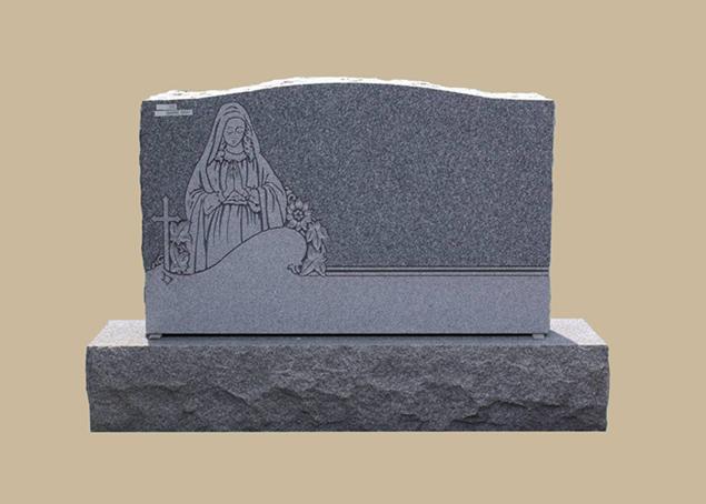 0278C Religious Grave Marker