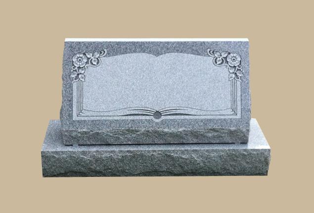 0280C Slanted Grave Marker