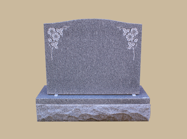 0285C Upright Grave Marker