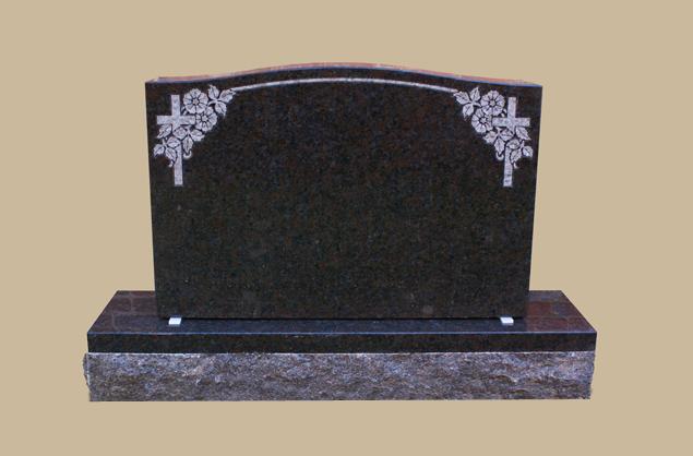 0288C Religious Cemetery Gravestone